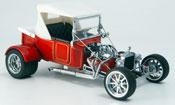 Ford Hot Rod miniature t-bucket rouge geschlossen 1925