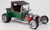 Ford Hot Rod miniature t-bucket verte geschlossen 1925