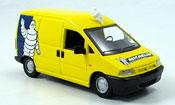 Miniature Michelin Peugeot Expert lieferwagen michelin