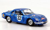 Renault Alpine A110 no.22 1971