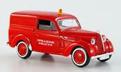 Renault Juvaquatre   pompier Solido