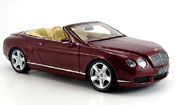 Bentley Continental GTC rosso 2006