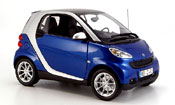 Smart ForTwo blue gray 2007