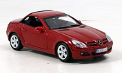 Mercedes SLK miniature rouge 2004