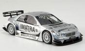Mercedes Classe C   AMG Test V.Rossi avec Figur Minichamps