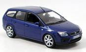 Miniature Ford Focus   Turnier bleu 2006