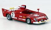 Alfa Romeo 33.3 1975 miniature tt 12 no.2 pescarolo sieger 1000 km spa
