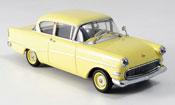 Opel Rekord   p1 yellow 1958 Minichamps