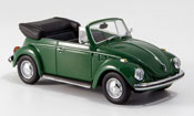 Volkswagen Coccinelle 1302 cabrio verde 1970
