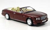 Bentley Azure   Cabrio red 2005 Minichamps