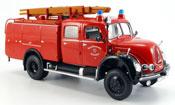 Miniature Magirus TLF 16   Merkur A pompier Dusseldorf