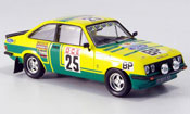 Miniature Rallye Ford Escort RS 2000 Chasseuil Rally Afrika 1976