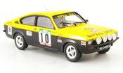 Opel Kadett GT miniature e meqepe sieger rallye portugal 1977