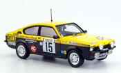 Opel Kadett GT miniature e carlsson rallye monte carlo 1977