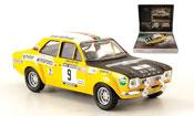Miniature Rallye Ford Escort MK1 Sclater British Rally Champ 1971
