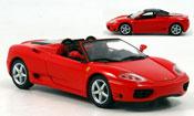 Miniature Ferrari 360 Modena Spider  rouge