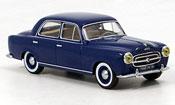 Peugeot 403 miniature Berline bleu 1956