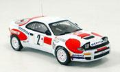 Toyota Celica   no.2 sainz moya rallye monte carlo 1992 IXO 1/43