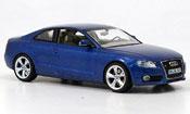 Miniature Audi A5   A5 bleu 2007