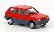 Miniature Fiat Panda   30 rouge 1980