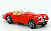Jaguar XK 120 miniature spider rouge offen 1948