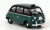 Fiat 600   Multipla Taxi Mailand 1956 Brumm