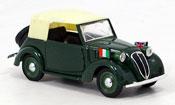 Fiat 1100 1937 miniature Cabrio Diplomatico