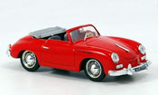 Porsche 356 1952 A Cabrio rosso
