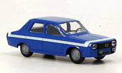 Renault 12 Gordini  bleu Norev