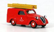 500 B Lieferwagen pompier Italilen 1946