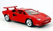 Lamborghini Countach 5000 Quattrovalvole  red Burago
