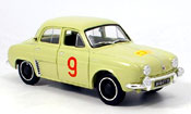 Renault Dauphine miniature no.9 tour de course 1956