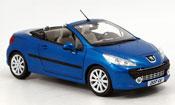Peugeot 207 CC blue 2007
