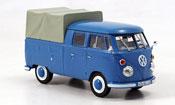 Volkswagen Combi t 1 doppelkabine blue 1963