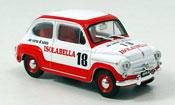 Fiat 600   D Amaro 18 Isolabella 1960 Brumm