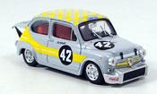 Fiat Abarth 1000 No.42 Swart dritter Zandvoort 1969