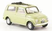 Fiat 500 green 1960
