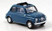 Fiat 500 D blue 1960