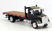 Peterbilt 335   Flachauflieger New Ray