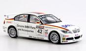 Miniature Bmw 320 E90  si 3er WTCC J.Muller 2006