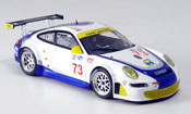 Porsche 997 GT3 RSR 2007  Tafel Farnbacher James Minichamps 1/43