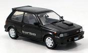 Toyota Starlet miniature turbo s noire 1986