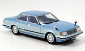 Toyota Chaser miniature avante twincam 24 bleu 1982