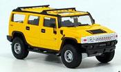Hummer H2 giallo