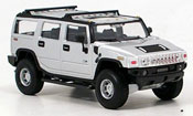 Hummer H2 grigio