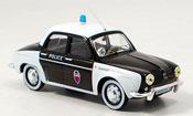 Renault Dauphine miniature police paris 1962