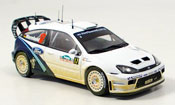 Miniature Rallye Ford Focus RS WRC No.17 Warmbold Orr Rally Neuseeland 2005