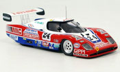 Peugeot WM miniature 1984 84 no.24 le mans P83