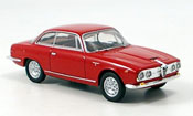 Alfa Romeo 2600 miniature sprint rouge 1962