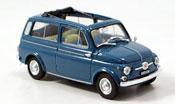Fiat 500 Giardiniera blue 1960